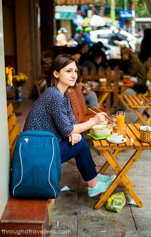 Hanoi Budget Trip: a bowl of Pho is always a good idea