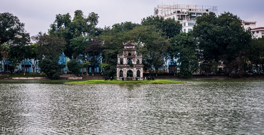 Hanoi Budget Trip and one of the most iconic landmarks of the cheapest (and most central) areas in town
