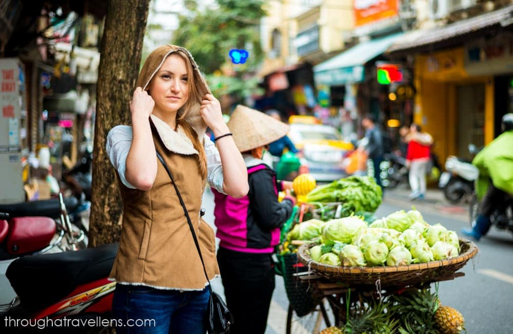 hanoi Budget Trip: a rule of thumb is to try local street food. It is cheap and delicious