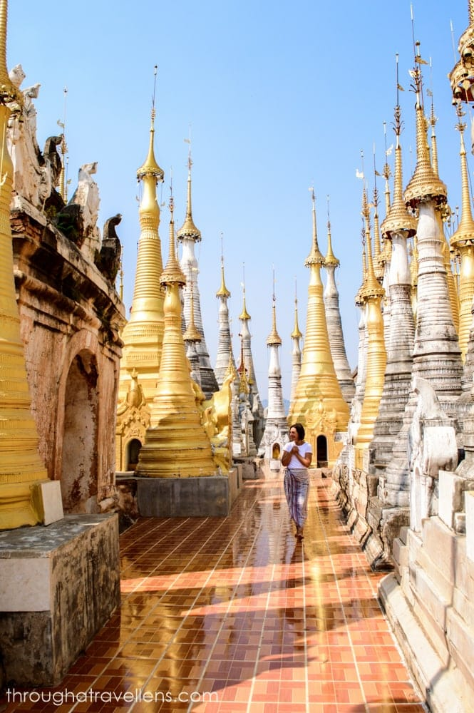 The Shwe Indein Pagoda