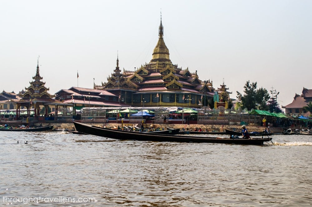 One of the oldest temples on the Inle Lake in Myanmar
