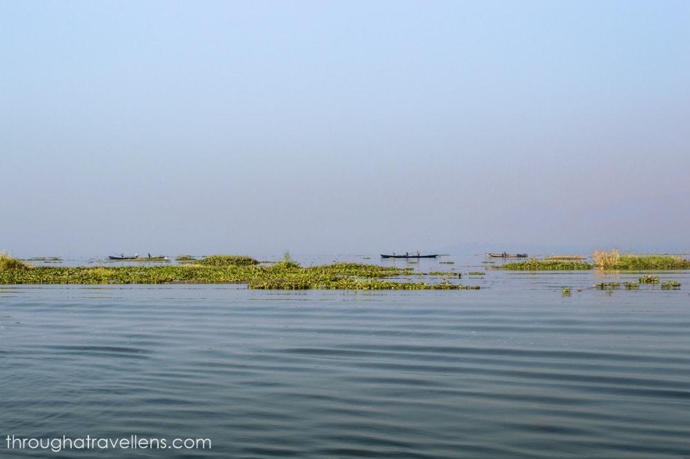Dry season in Inle Lake, Myanmar