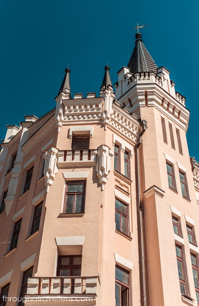 The castle on Andriivsky descent is believed to kill its masters