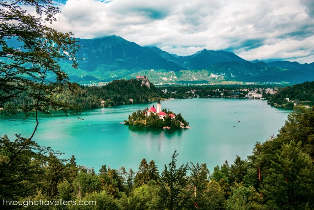 Hiking in Lake Bled