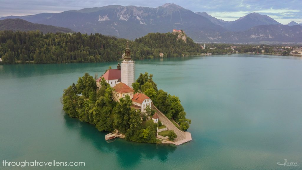 Lake Bled from Ljubljana: the lake is beautiful at any season of the year