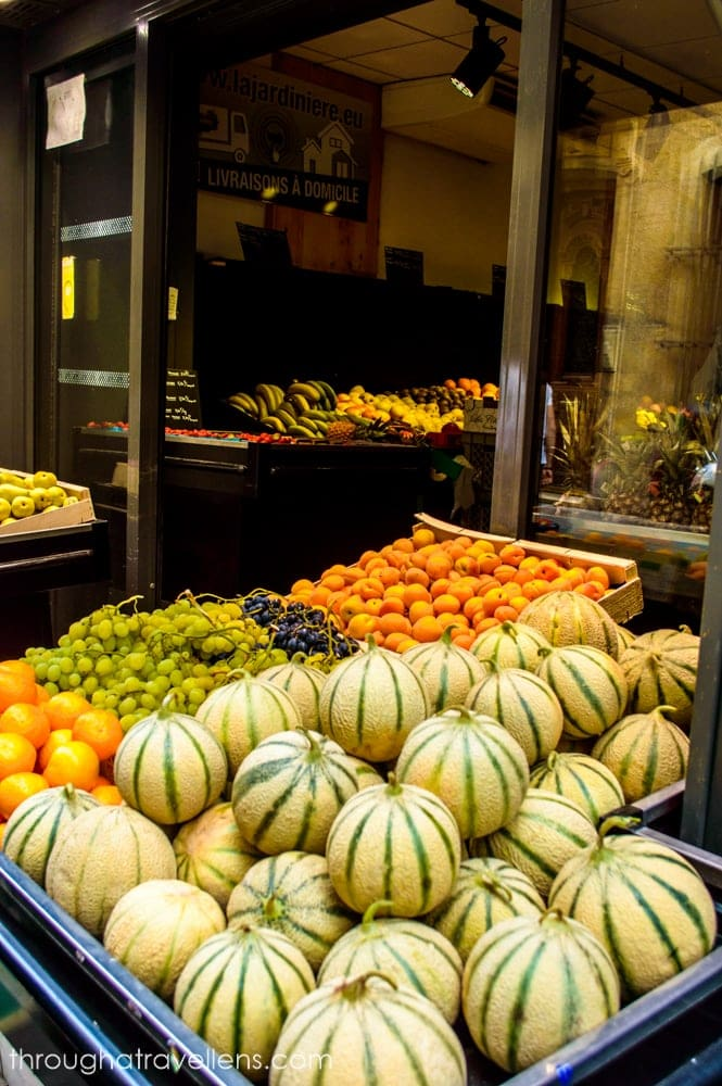 Cavaillion in Provence is known for growing the perfect cantaloupes
