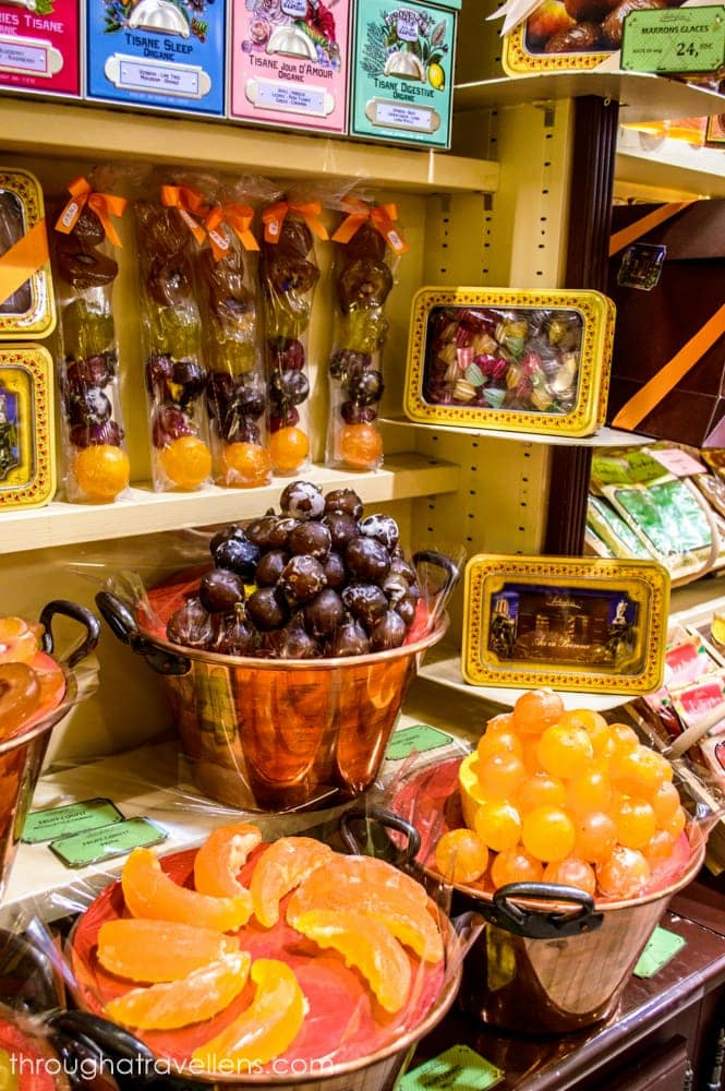 Apt in Provence is known for its candied fruits