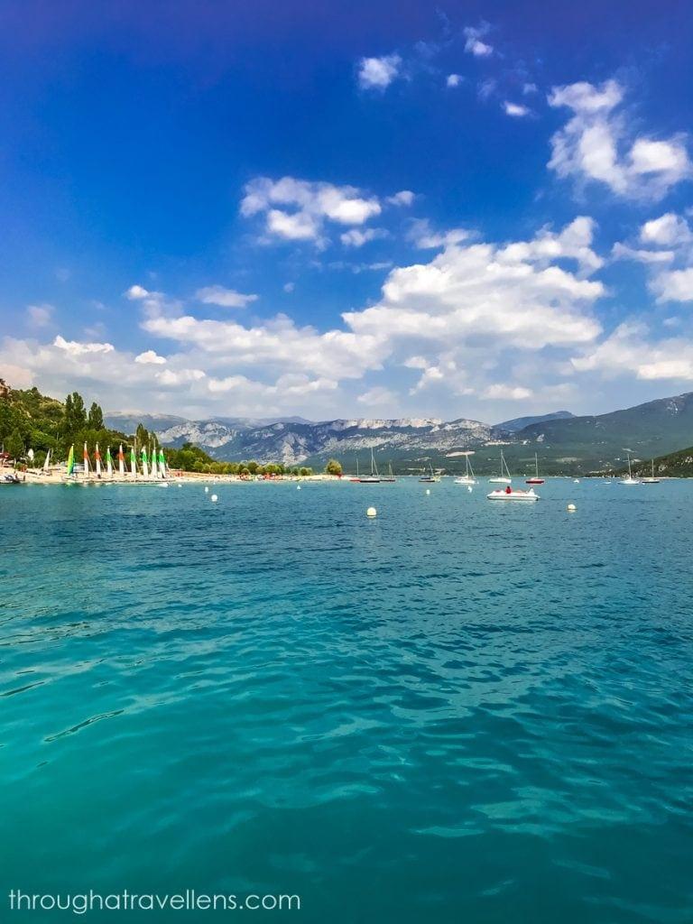 lac du Saint Croix in Provence