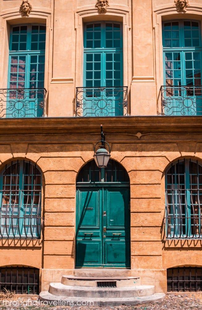Place d'Albertas in Aix-en-Provence