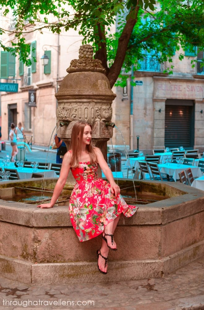 What to do in Provence? Try to count all the fountains in Aix