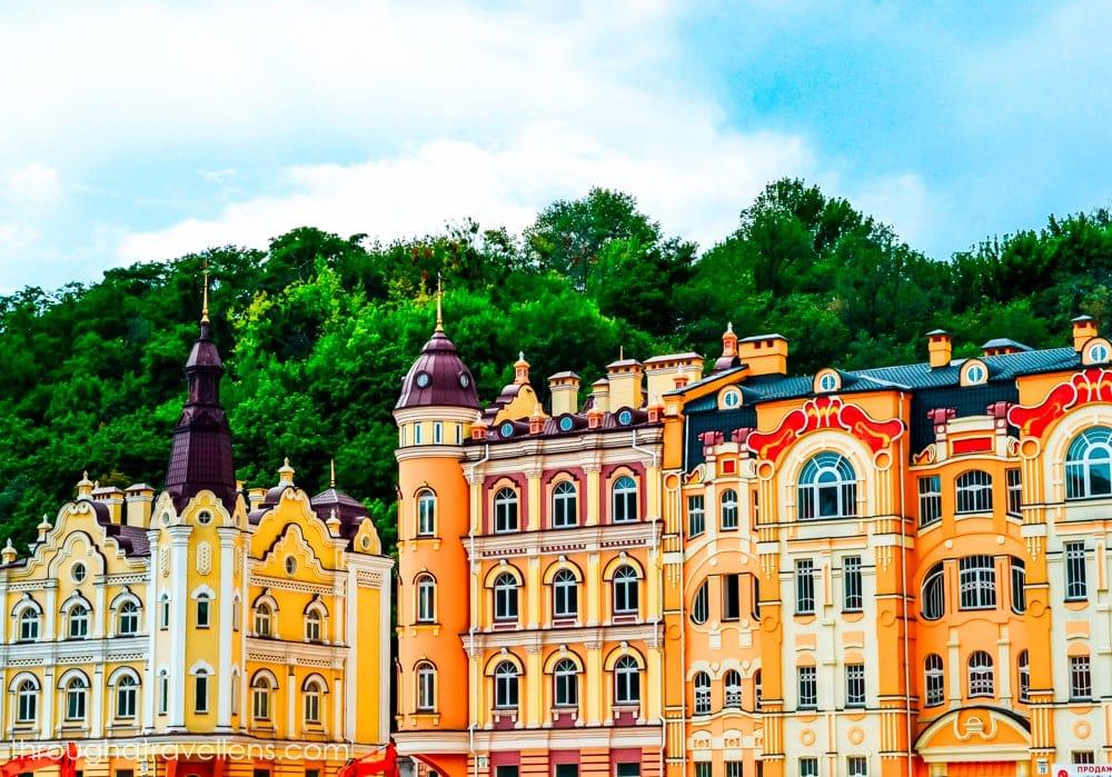 One of the most popular streets in Kiev is Vozdvyzhenska