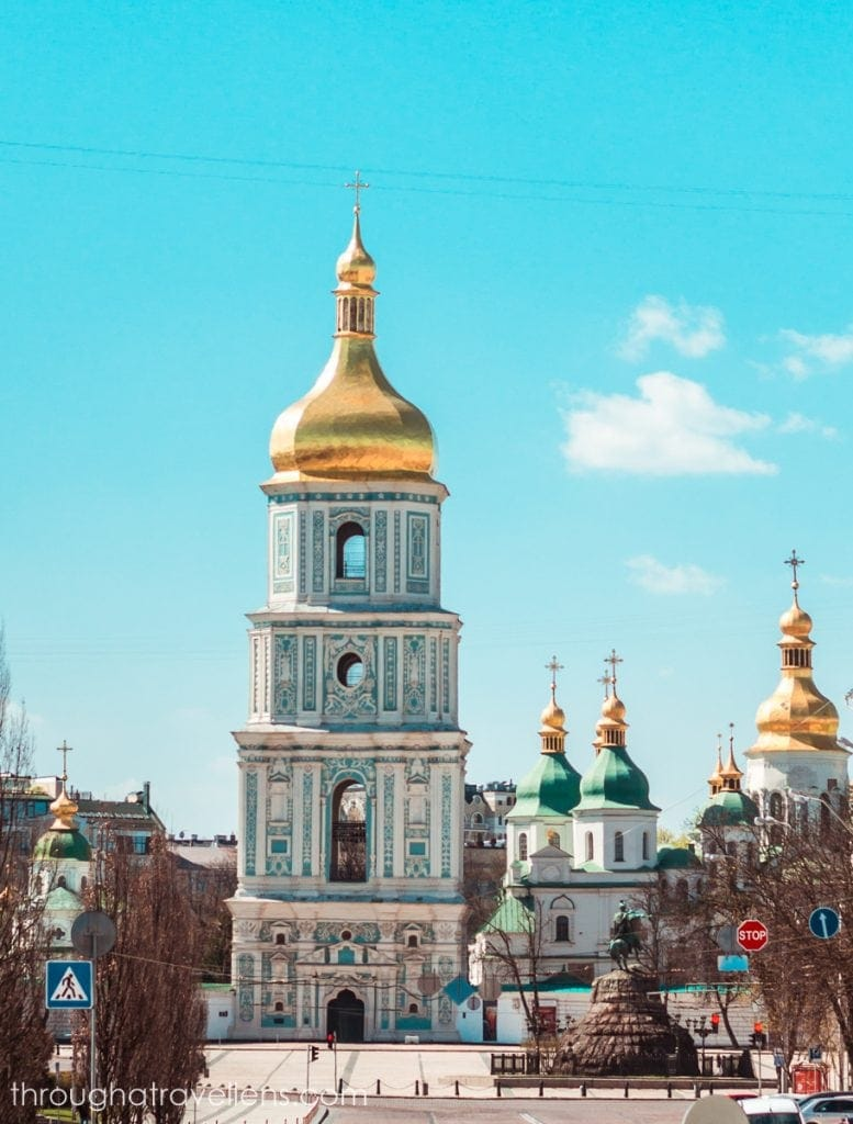 One of the most popular spots for tourists is St. Sophia's church