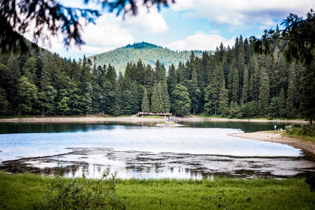 Synevir Lake — an important part of the Ukraine travel itiinerary