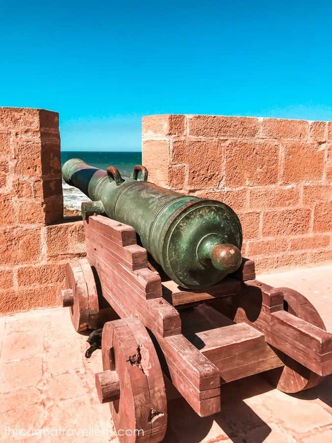 Essaouira 3-day trip will not be complete without a visit to the ramparts