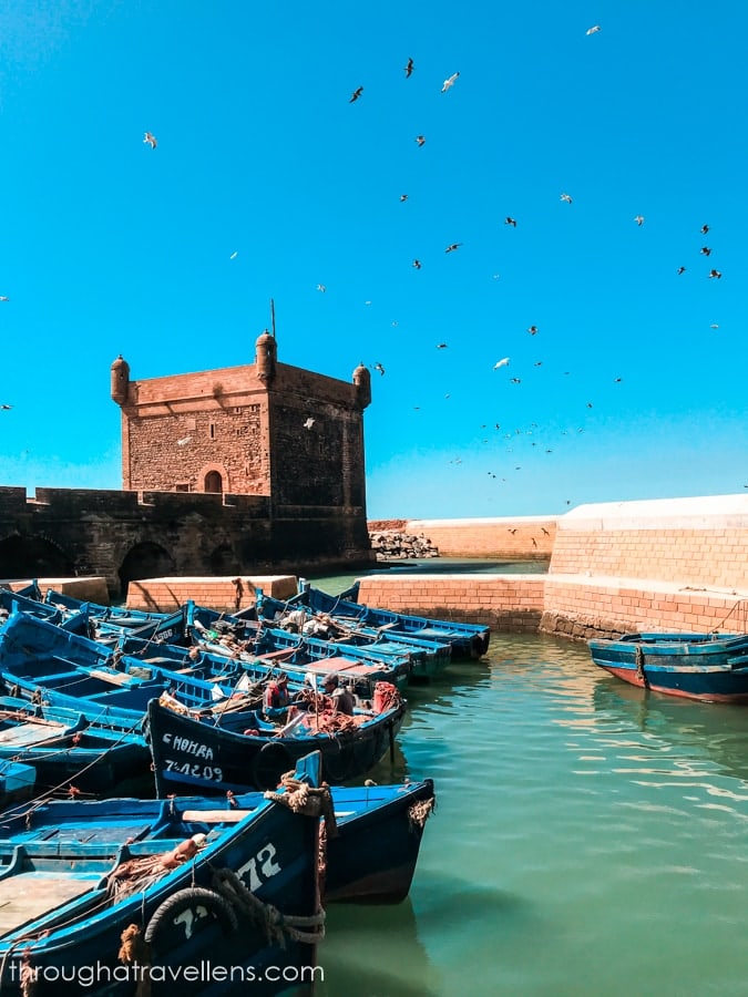 Essaouira 3-day trip: this is a location made famous by the GOT series.