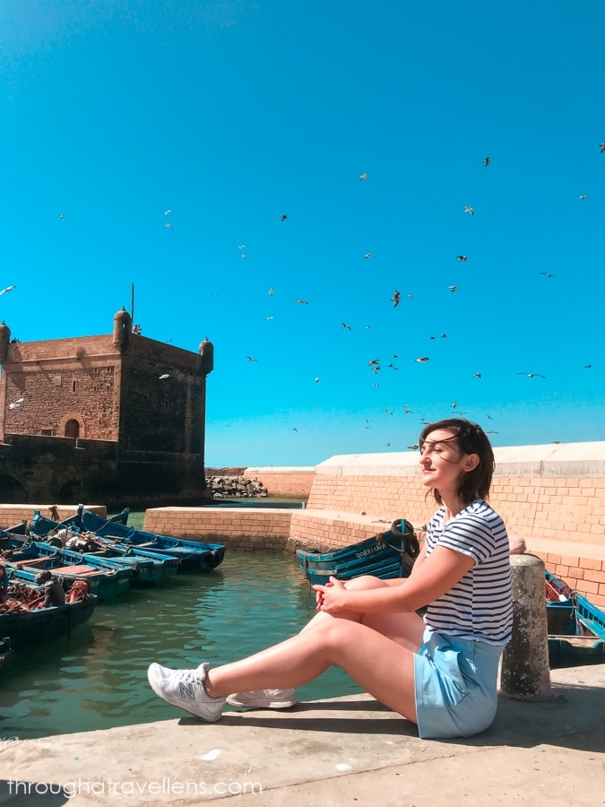Essaouira 3-day trip will not be complete without a visit to the old Portuguese fortress