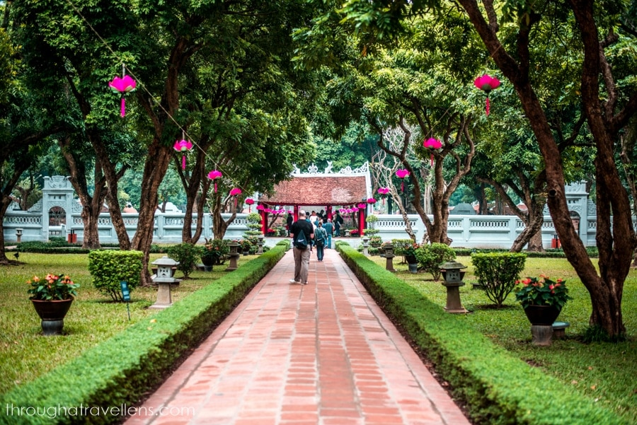 Hanoi travel guide: inside the Temple of Literature