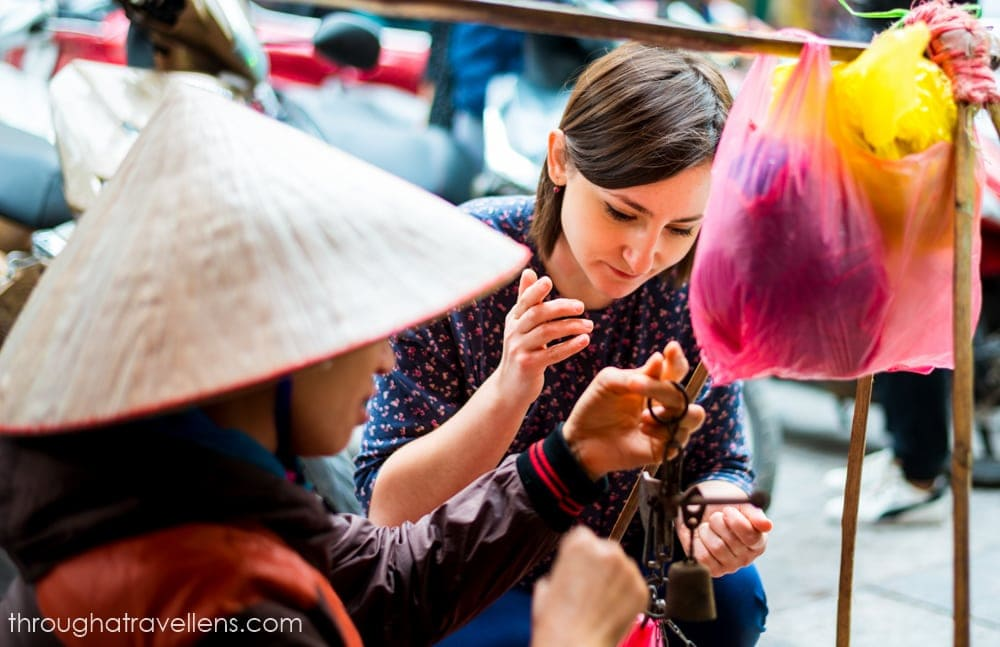 Hanoi street food scene is diverse