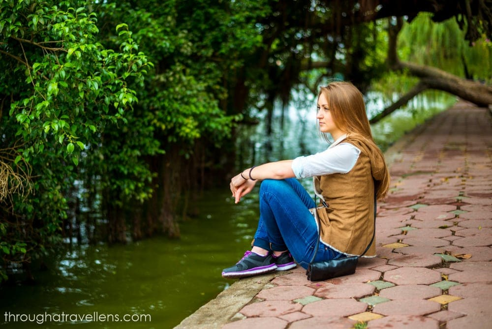 Hanoi Travel Guide: By one of many lakes in Hanoi