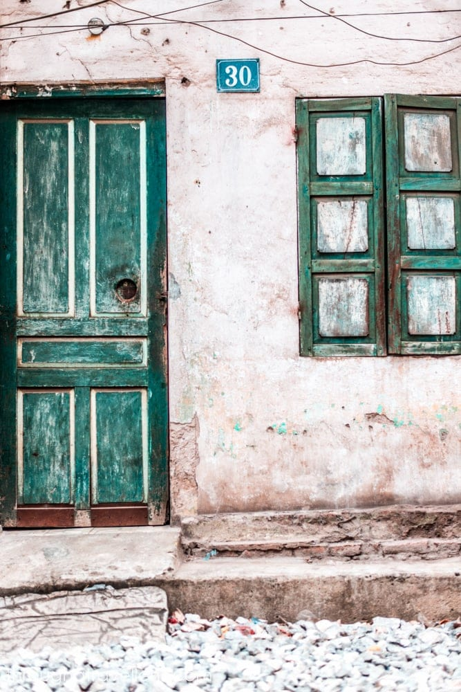 Charming streets of the Hanoi old quarter