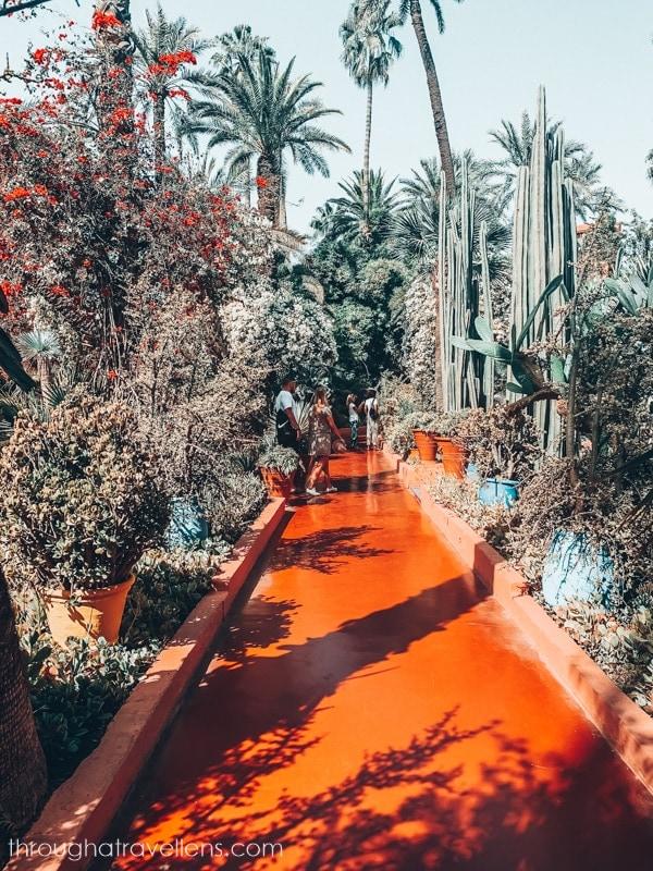 Majorelle Gardens in Marrakech