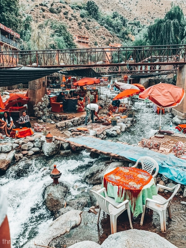 Cafes in the Ourika Valley, Morocco