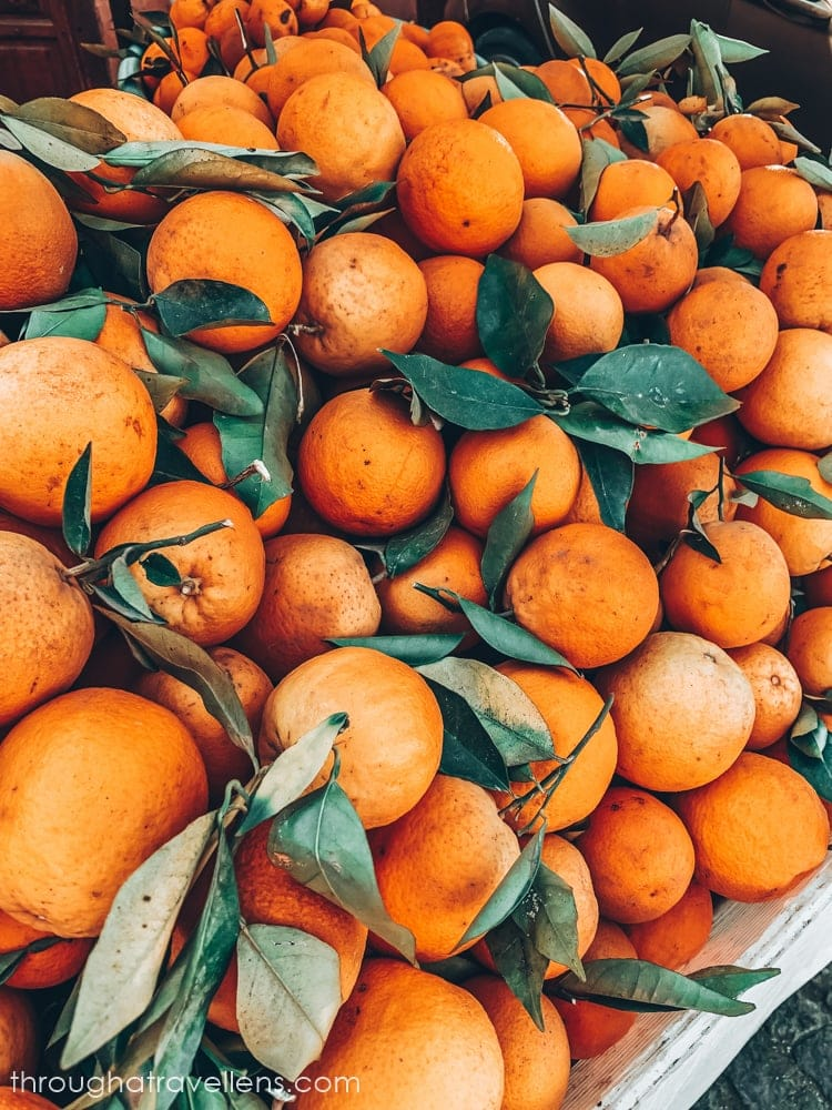 Marrakech is famous for its orange juice sold on every corner