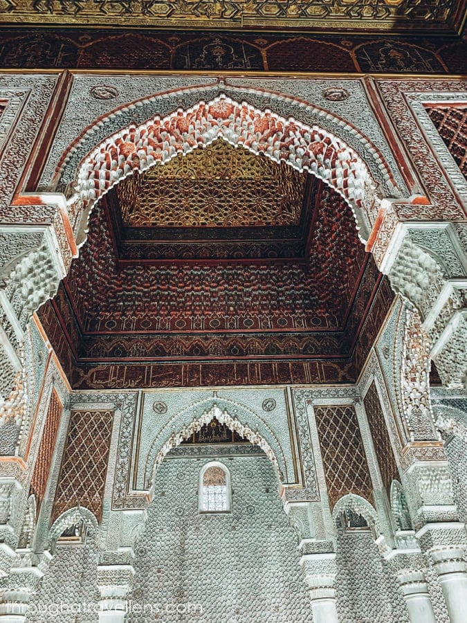 What to do in Marrakech? Head to the Saadian tombs