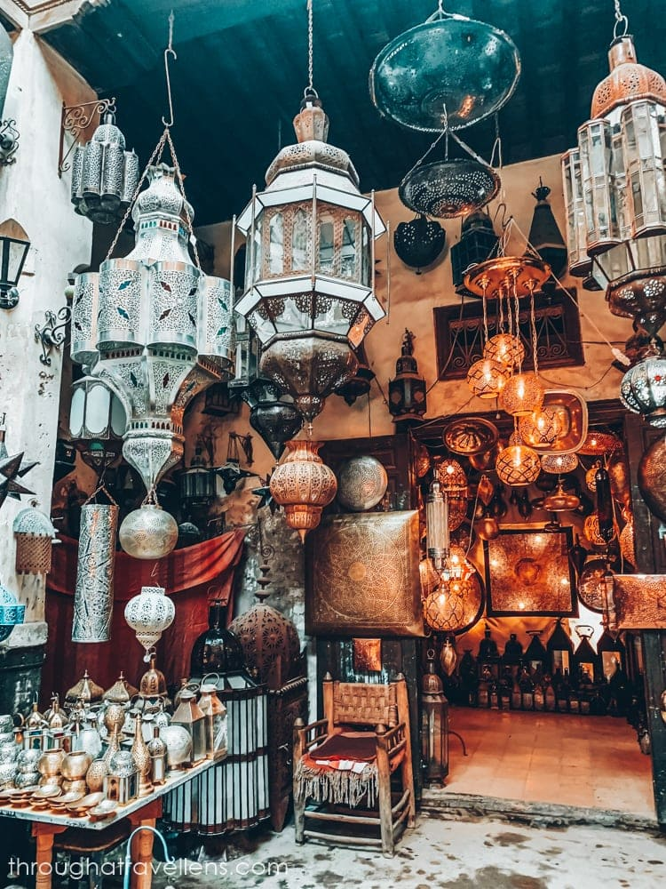 Shopping is always an answer to a question What to do in Marrakech?