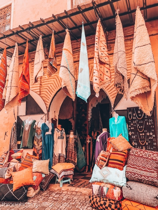On the streets of Marrakech
