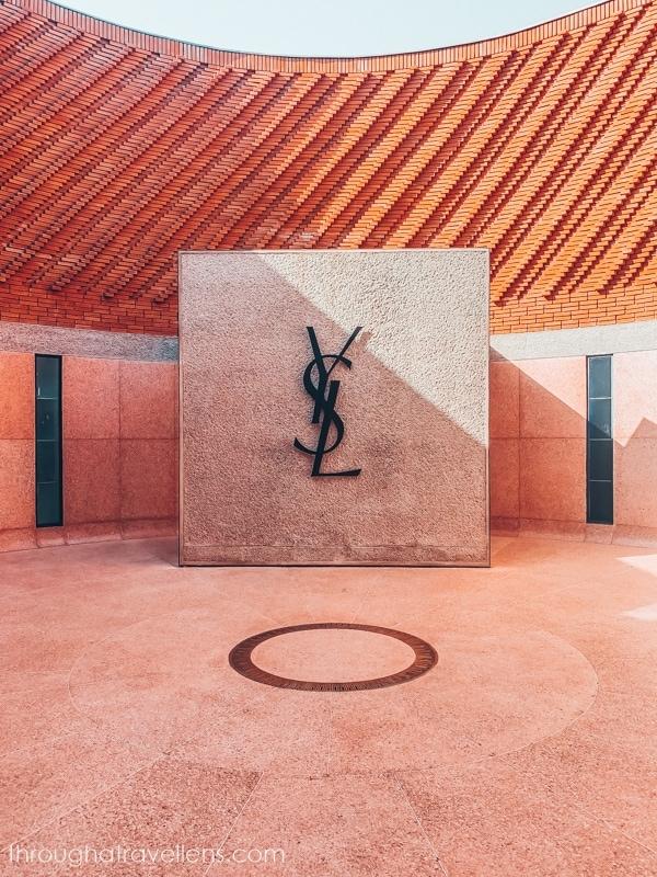 The museum of Yves Saint-Laurent in Marrakech