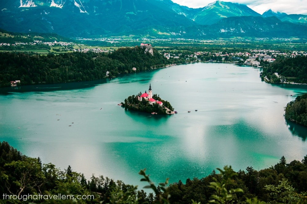 One of the best day trips from Ljubljana is to lake Bled