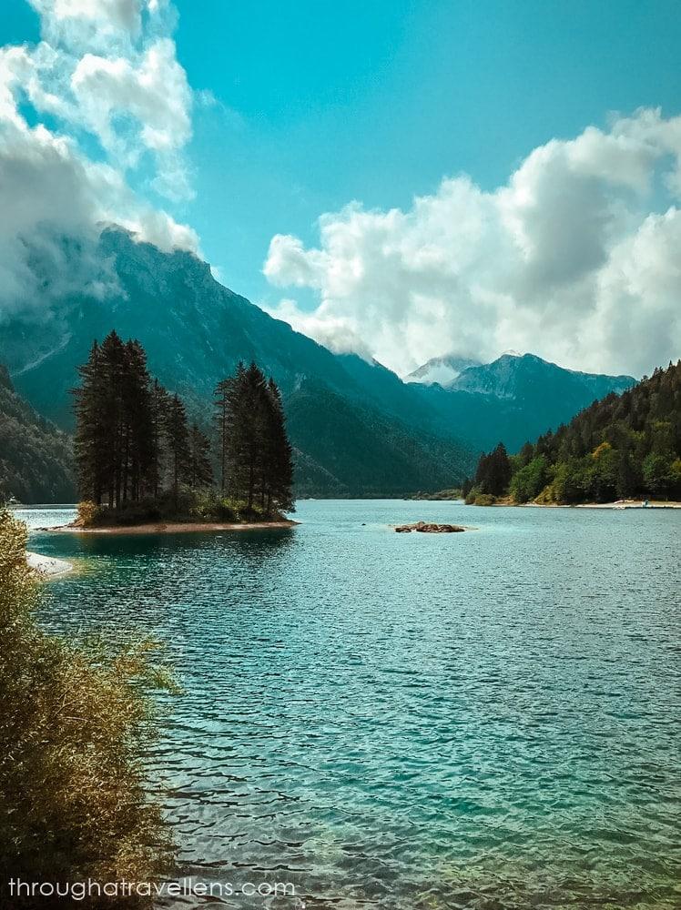 Lago del Predil near Slovenia