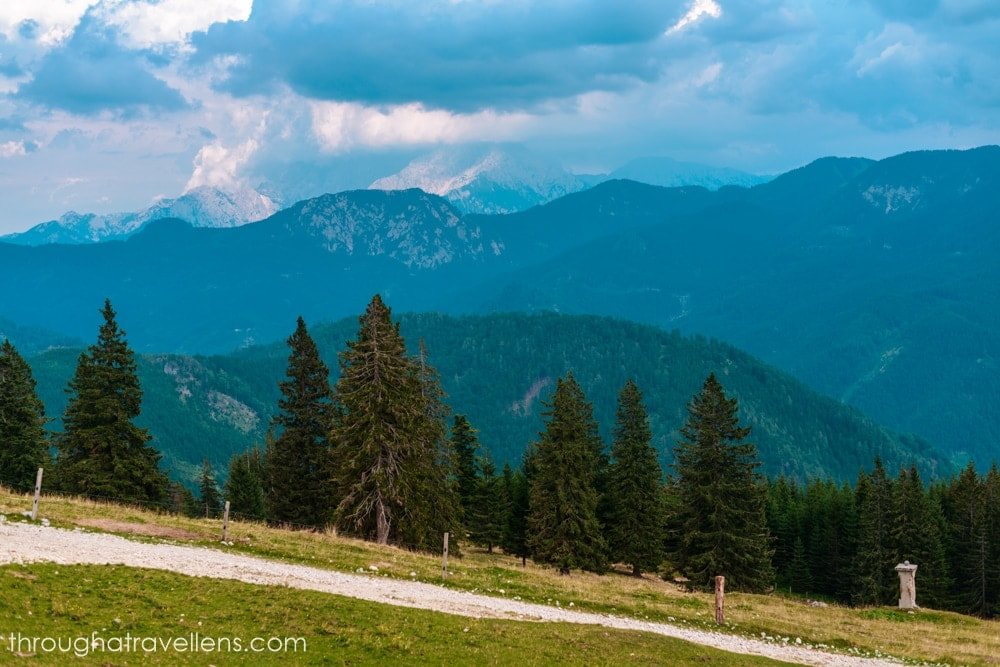 One of the most beloved local hikes in Slovenia is to Dom na Kofcah