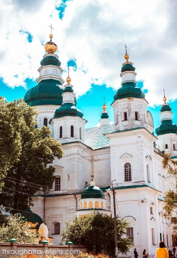 St. Trinity's Cathedral, Chernihiv