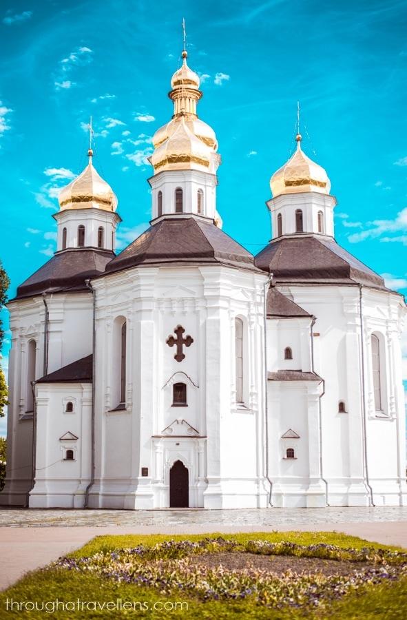 St. Catherine's Cathedral in Chernihiv