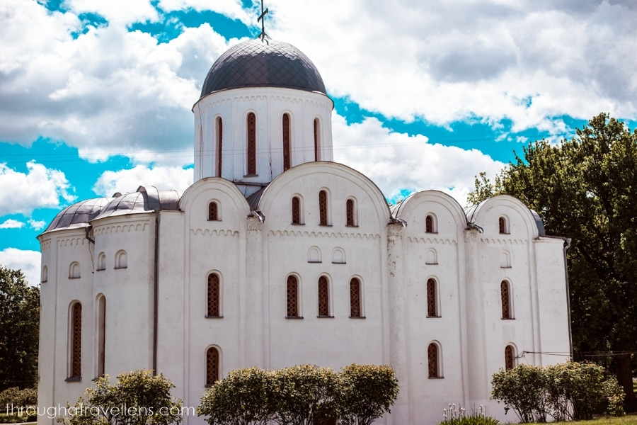 Borys and Gleb Cathedral in Dytynets, Chernihiv