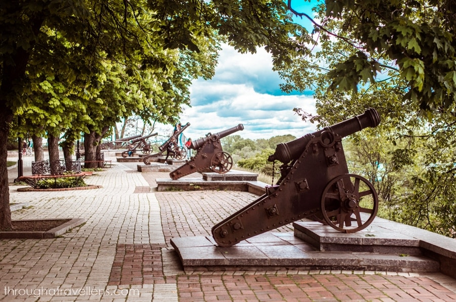 A dozen cannons of the Val, Chernihiv