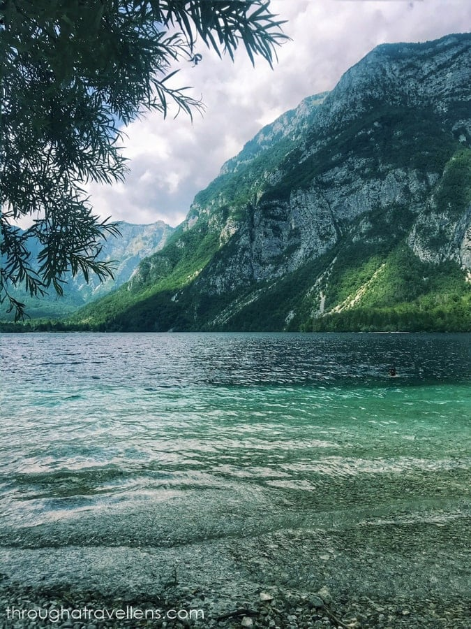 Hiking around lake Bohinj in Triglav National Park