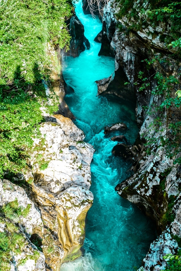 Soca from Trenta Valley is one of the most popular Triglav National Park hiking trails