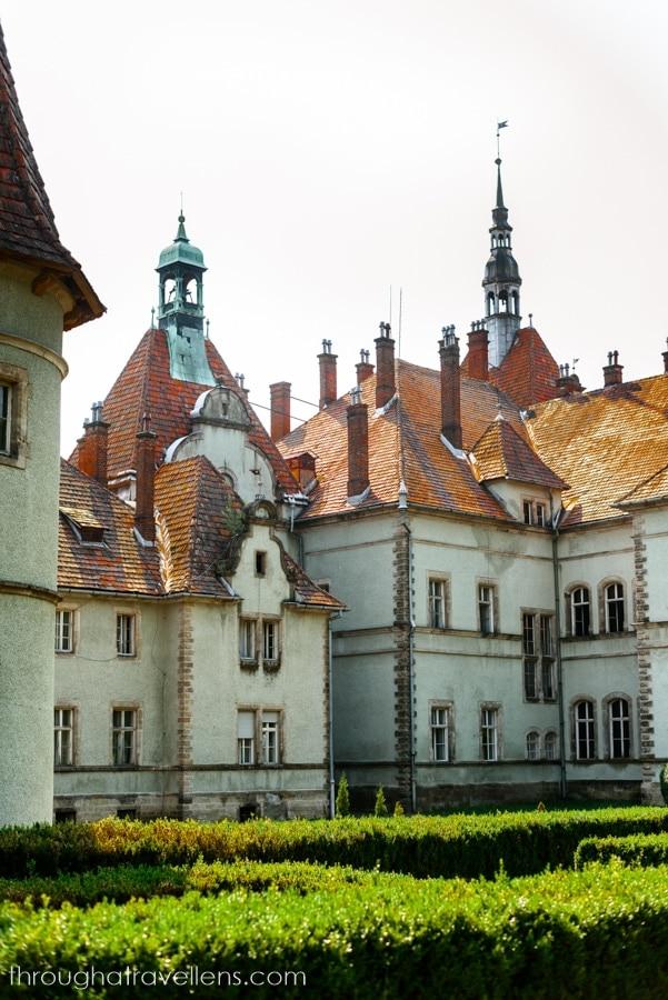 Shenborn's Castle, Ukraine