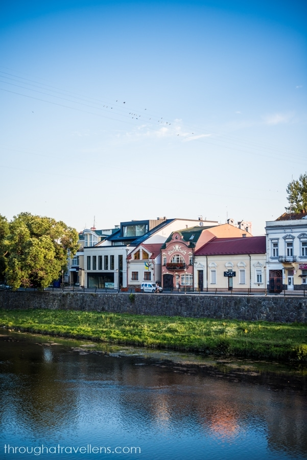 The promenade of Uzhgorod