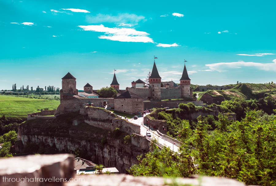Kamyanets-Podilsky and its postcard-perfect postcard, Ukraine