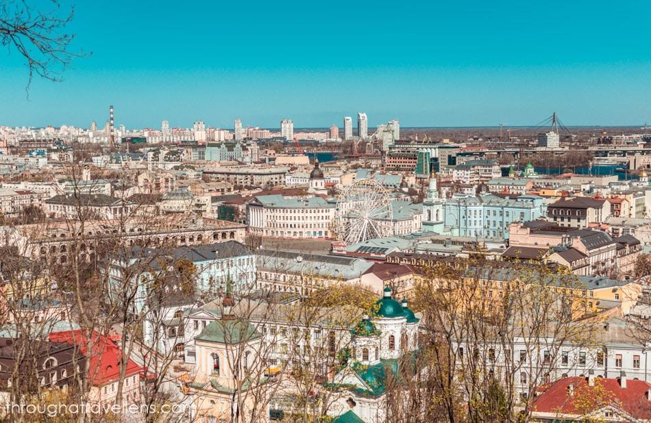 Podil area, Kiev