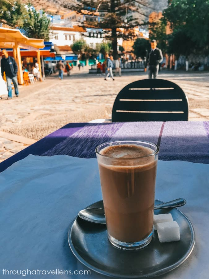 Coffee in Chefchaouen