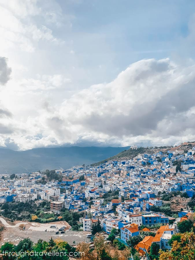 {panorama of Chefchaouen