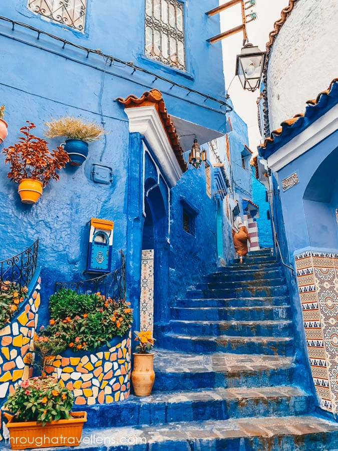 Photogenic streets of Chefchaouen