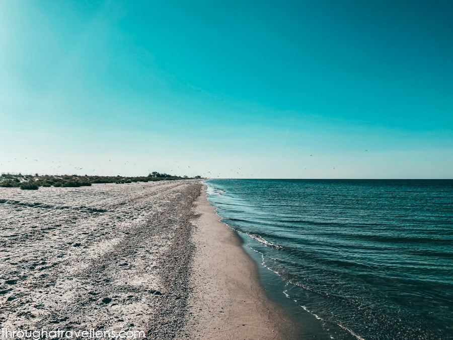 Some of the best beaches in Ukraine are at the Kinburn Spit