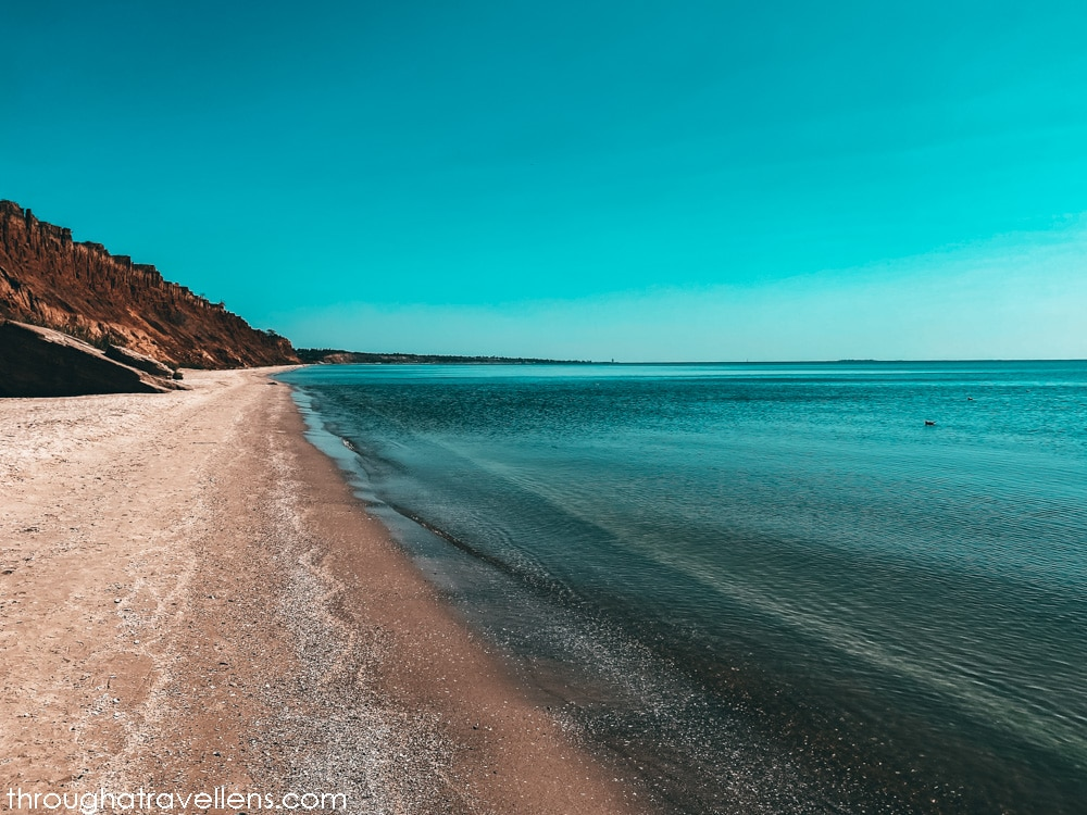 The best beaches of Ukraine near Odessa