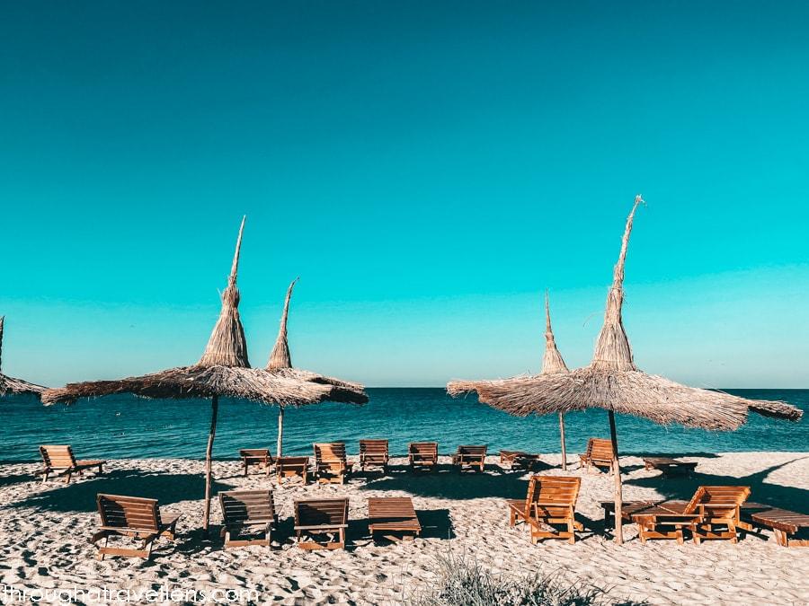 Kinburn Spit, Ukraine, beaches for camping